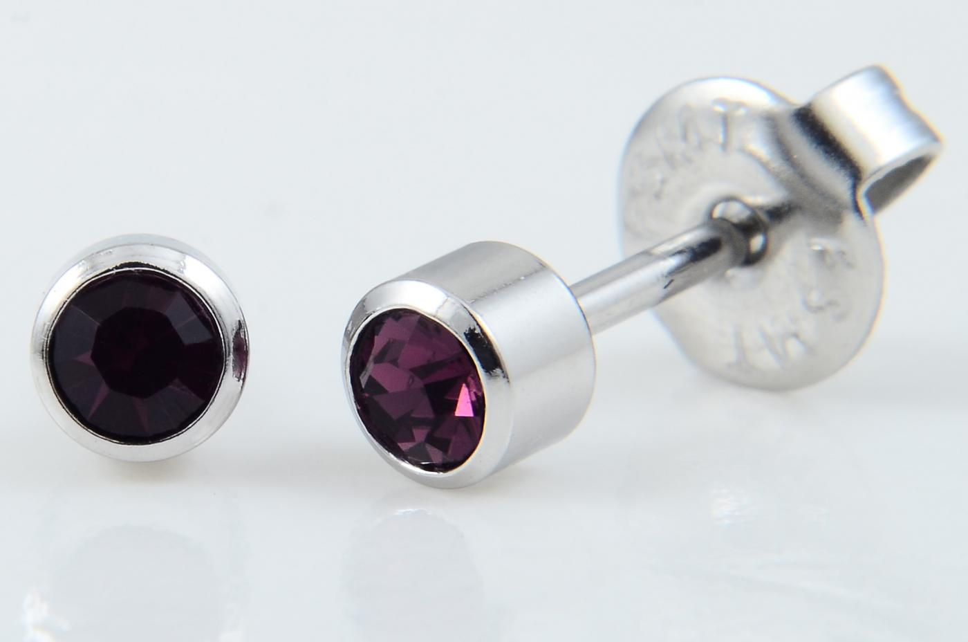 21-302 Bezel Birthstone,Amethyst SS (previously 214) image