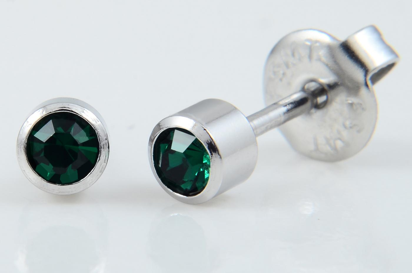 21-305 Bezel Birthstone,Emerald SS (previously 217) image